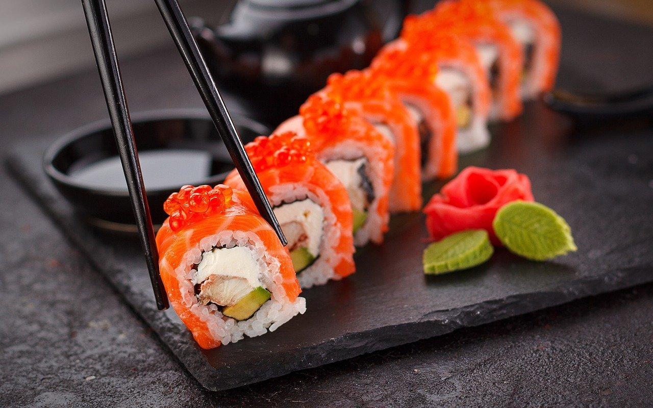 Les sushi, un repas japonais mondiale.